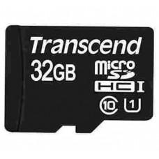 MicroSDHC 32Gb 10class Transcend