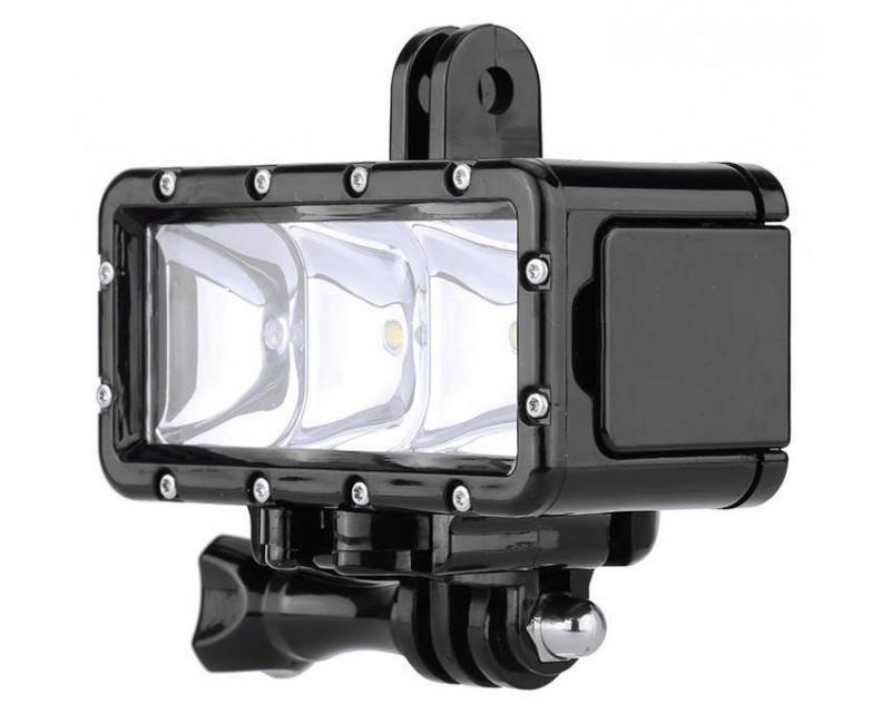 Водонепроницаемый фонарь для экшн камер SJCAM