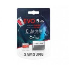 MicroSDXC 64Gb 10class Samsung EVO Plus