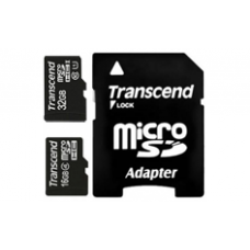 MicroSDHC 16Gb 10class Transcend